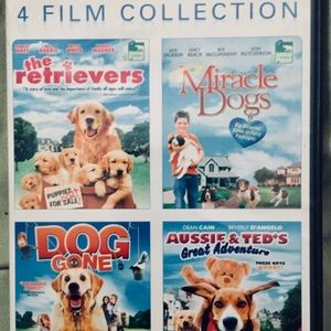 Family 4 Dog Film Collection!